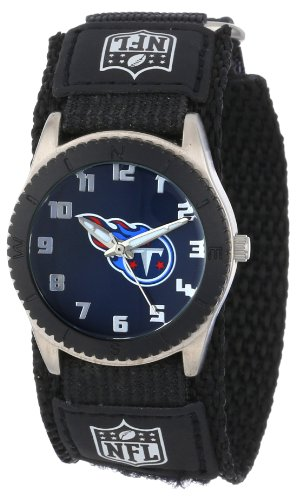 Anaheim Team Watch - Game Time Men's 'Rookie' Quartz Metal and Nylon Casual Watch, Color:Black (Model: NFL-ROB-Ten)