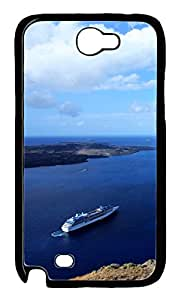Samsung Galaxy Note II N7100 Cases & Covers - Aegean Custom PC Soft Case Cover Protector for Samsung Galaxy Note II N7100 - Black