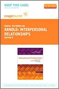 interpersonal relationships professional communication skills for nurses pdf