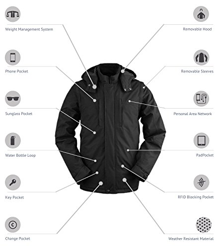 SCOTTeVEST Revolution Plus - 26 Pockets - Travel Clothing, Pickpocket Proof L by SCOTTeVEST (Image #1)