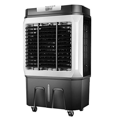 Refroidisseur d'air par Évaporation   Ventilateur,Humidificateur,Climatiseur 3 en 1   Grand Réservoir d'eau 45l   4 Vitesse du Vent,Ultra-Silencieux   150W Économie D'énergie