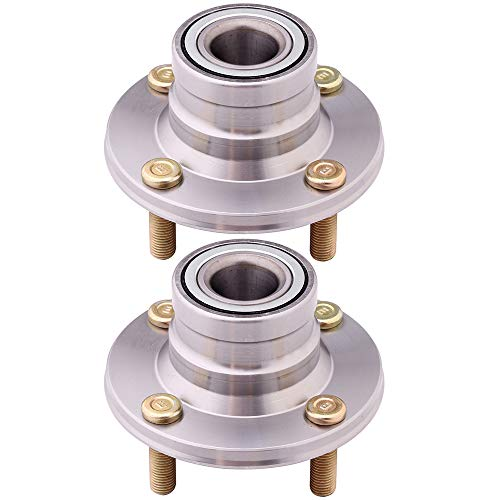 SCITOO Replacement for Rear Wheel Bearing Hub 512148 Hub Bearing Hub Assemblies 4 bolts Replacement Dodge Colt 1993-1994, Eagle Summit 1993-1996, Mitsubishi Mirage, Plymouth Colt Basea pack of - Colt Wheel Plymouth