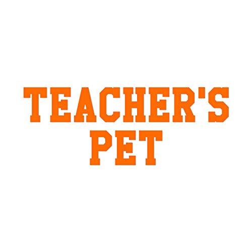 Teachers Pet - Vinyl Decal Sticker - 12