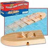 : Toysmith Rubber Band Paddle Boat