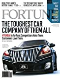 Fortune Vol 161 No 1 January 18, 2010 The Toughest Car Company of Them All Hyundai Lou Dobbs Oracle vs HP vs IBM