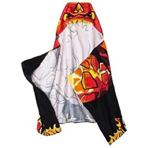 Jay Franco Skylander's Born to Burn Hooded Beach Towel Wrap