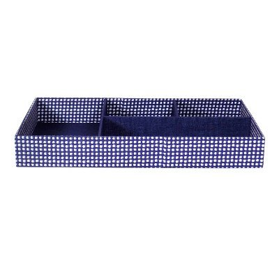 SOHO Rectangular Tray Small Chambray Blue by Soho