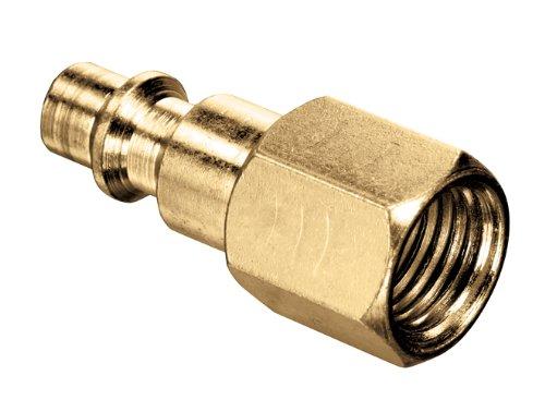 300 PSI 1//4 Kuriyama of America Inc. 1//4 Brass Kuriyama QDAP-6FP Plug with Female Thread