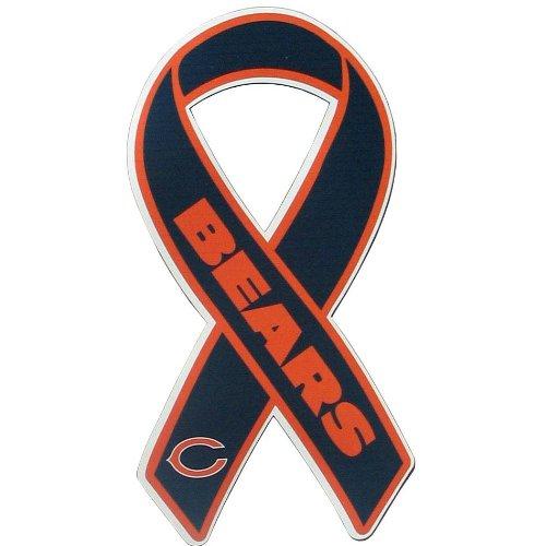 UPC 754603107467, NFL Chicago Bears Ribbon Magnet