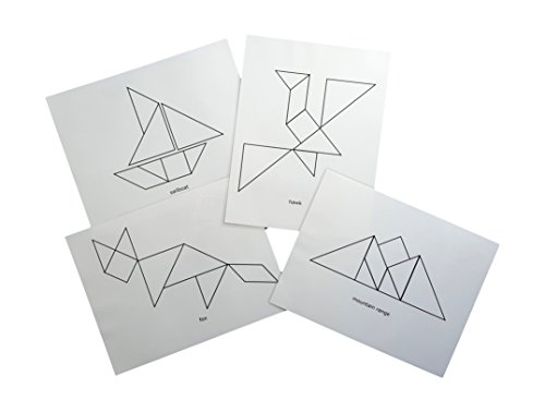 Keeping Busy Tangram Add-On Dementia and Alzheimers Templates Engaging Activities / Puzzles / Games for Older Adults