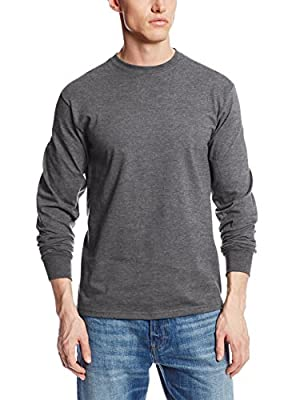 Soffe Men's Men'S Long Sleeve Cotton T-Shirt