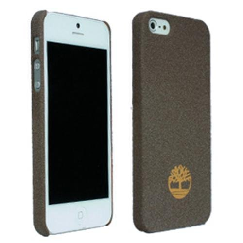 Timberland Newmarket Collection Brown Bio-Degradable Sandblasted Case for Apple iPhone 5 (Sandblasted Case)