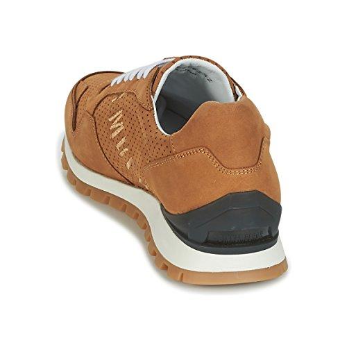 Bikkembergs 2074 Camel er Uomini Sneakers Fend Basse FOaFUqBn