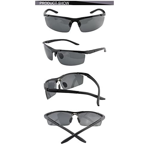 2ce01ac294d Duco Men s Driving Sunglasses Polarized Sports Eyewear Fishing Golf Goggles  8530S high-quality