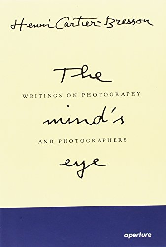 Image of Henri Cartier-Bresson: The Mind's Eye: Writings on Photography and Photographers