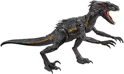 lang TV Werbung Mattel FLY53 Jurassic World Indoraptor mit Licht /& Sound 43 cm