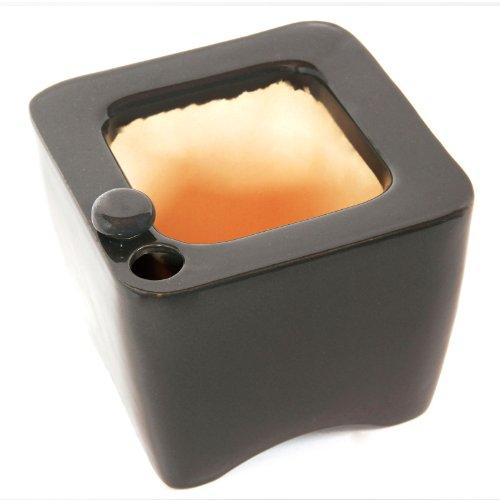 Oasis Ceramic Self Watering Planter Grey B00ap6oiie Amazon