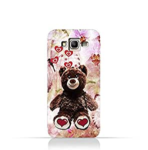Samsung Galaxy Grand Prime TPU Protective Silicone Case with My Teddy Bear Design