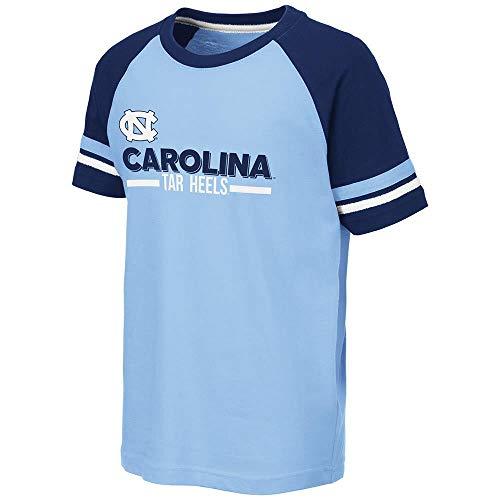 - Colosseum Youth UNC North Carolina Tar Heels Ottawa Raglan Tee Shirt - L