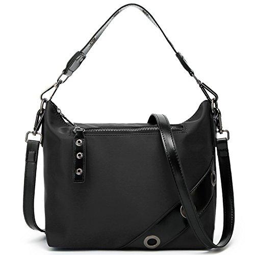 SiMYEER Crossbody Bag Purse Multi Zipper Pocket Shoulder Bag Messenger Bag for Women