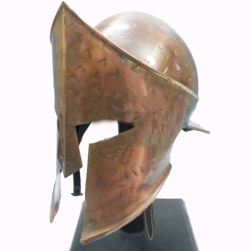 Leonidas Costumes (Spartan King Leonidas 300 Movie Helmet
