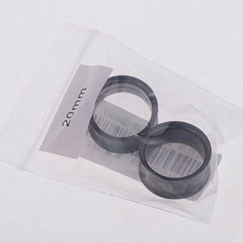 耳トンネル ボディピアス 埋め込み型 耳拡 ピアス 耳のゲージ 全12サイズ - 18mm