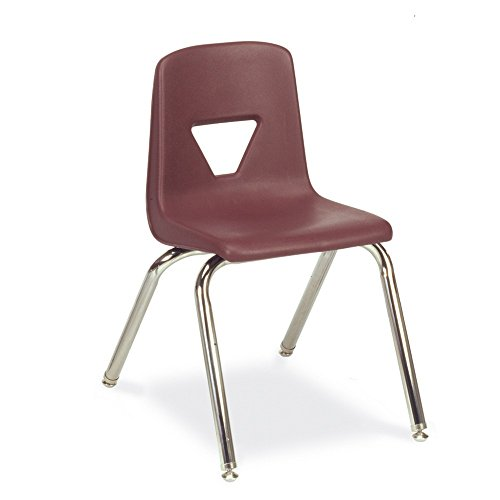 Virco M-2016-Graphite 2000 Series Chair for Grade 3-4 Use, 16