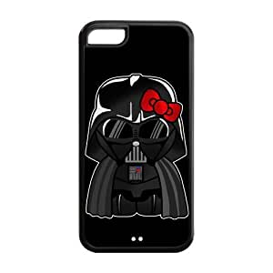 Hello Kitty Darth Vader Iphone 5/5s Case Star Wars Anakin Skywalker Darth Vader Black Case Covers at NewOne