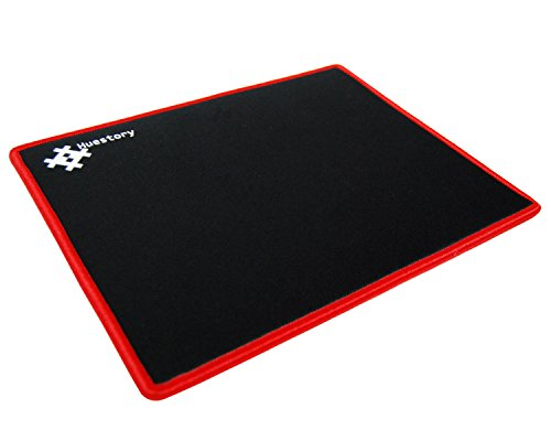 Huestory Ultra Thick 10.6'' x 8.7'' x 5mm Gaming Mouse Pad with Stitched Edges, Accurate Controllability, Non-slip (Genius Ergonomic Mouse)