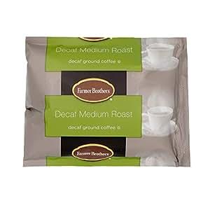 Farmer Brothers Coffee - Ground Medium Roast Decaf 2 Oz Portion Packs (Bulk  40 Pack - $1 38 cost