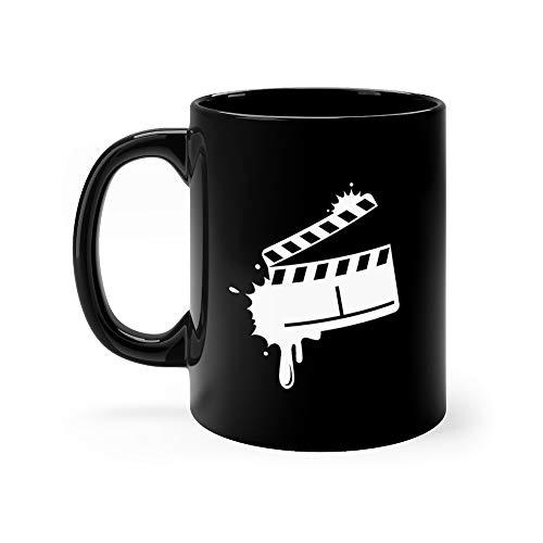 (Blot Clapper Boards Web Icon Element Director Favorite Drink Mug Ceramic 11 Oz Cups)