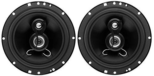 (Planet Audio TRQ623 Torque 300 Watt (Per Pair), 6.5 Inch, Full Range, 3 Way Car Speakers (Sold in Pairs))