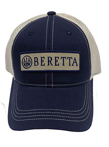 Beretta Mens Patch Trucker Hat, Navy