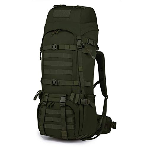 Mardingtop 65L Internal Frame Backpack Tactical Military Molle Rucksack for Hunting Shooting Camping Hiking Traveling Army Green ()