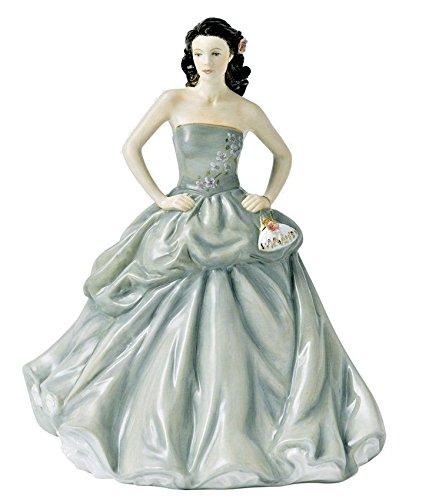 Doulton Royal Figurine Birthday (Royal Doulton Pretty Ladies Happy Birthday Annual Figurine 2013 HN5587 New in Box)