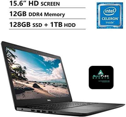 "2020 Newest Dell Inspiron 15 Business Laptop: 15.6"" HD Non-Touch Display, Intel 4205U 1.8GHz Processor, 12GB RAM, 128GB SSD+1TB HDD, WiFi, Bluetooth, HDMI, Webcam, Windows 10 in S Mode, AllyFlex MP WeeklyReviewer"
