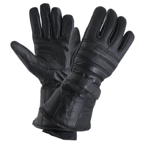 Long Motorcycle Gloves - 9
