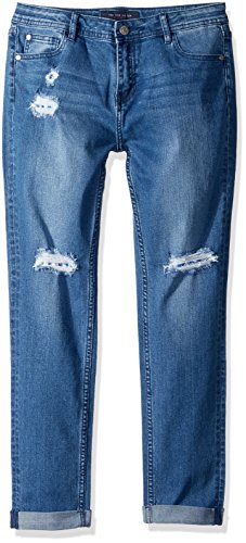 edabce4647 Galleon - Tommy Hilfiger Girls  Big Stretch Denim Jeans
