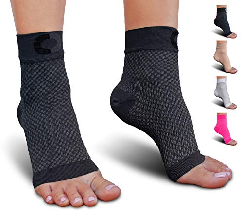 Flops Team Flip (Plantar Fasciitis Socks with Arch Support for Men & Women - Best Ankle Compression Socks for Foot and Heel Pain Relief - Better Than Night Splint Brace, Orthotics, Inserts, Insoles)