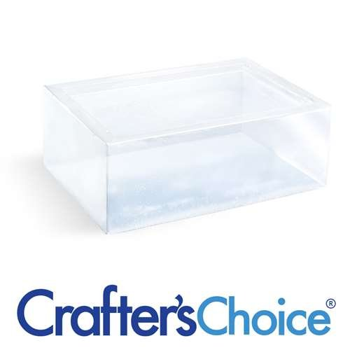CybrTrayd Crafter's Choice 4 LB Premium Crystal Clear Melt and Pour Soap Base