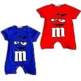 Peachi M&M Short Sleeve One Size Baby Toddler