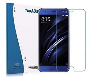 Xiaomi Mi 6 Screen Protector, TopACE Premium Quality Tempered Glass 0.3mm Film for Xiaomi Mi 6 (2 Pack)