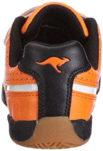 KangaROOS Hector-Combo 11035 Unisex-Kinder Sneaker Orange (neonorange/wht/blk 705)