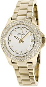 Fossil Retro Traveler Three Hand Stainless Steel Watch - Gold-Tone Am4453
