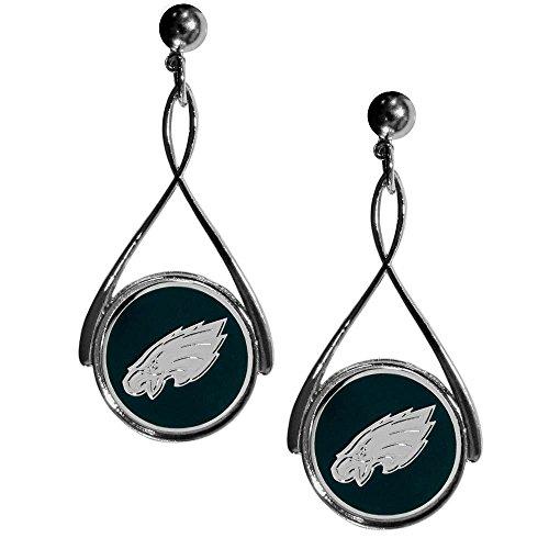 Earrings Primary Logo (NFL Philadelphia Eagles Tear Drop Earrings)