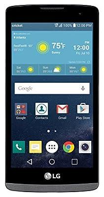 "LG Risio 4G LTE H343 Cricket Wireless Titan 4.5"" display 8GB Android 5.1 5MP Camera"