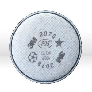 3M 2078 P95 OV/AG Filter For 5000 6000 7000 Series 2 Pack