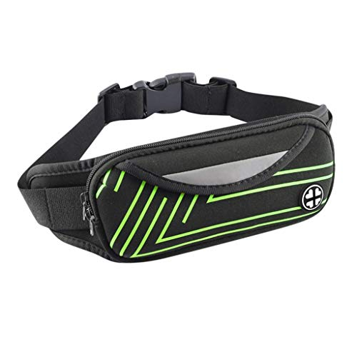 Travel Fanny Bag Waist Pack Unisex Mobile Phone Bag Pocket Outdoor Riding Sports Pockets for Children Sport Running, Camping, Trip (Best Pc Fishing Game 2019)