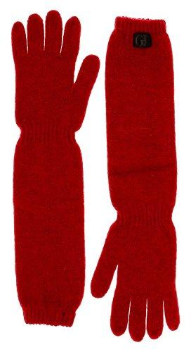 gianfranco-ferre-gua-01033-15-red-wool-blend-long-gloves