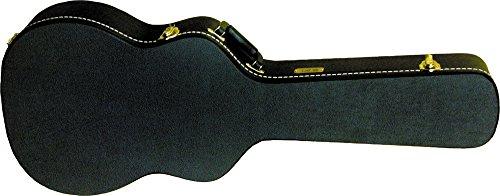 - Gold Tone Beard Resonator Hard Case Round Neck